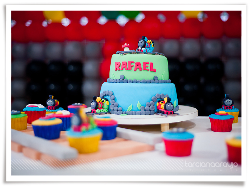 Festa Infantil - Rafael 3 anos